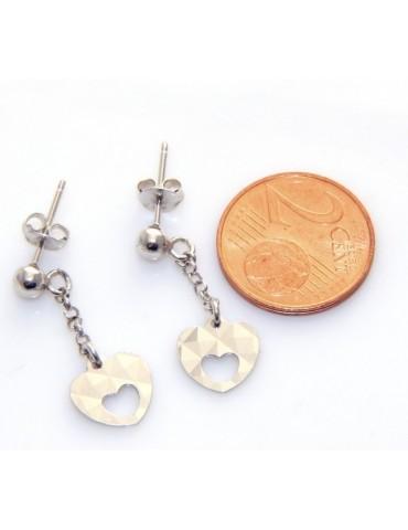 orecchini argento 925 cuore...