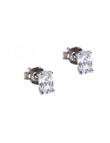 orecchini argento 925 ovali...