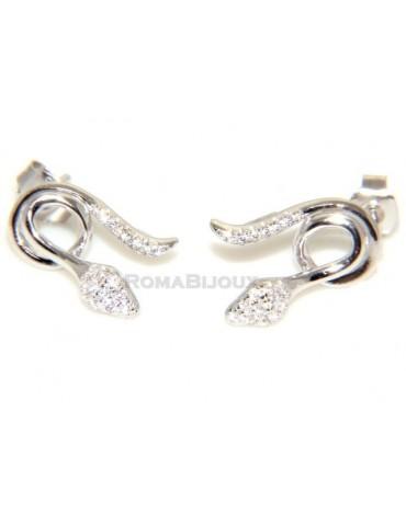 orecchini serpente