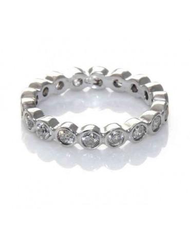 anello argento 925 eternity...