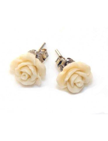 orecchini argento 925 rosa...