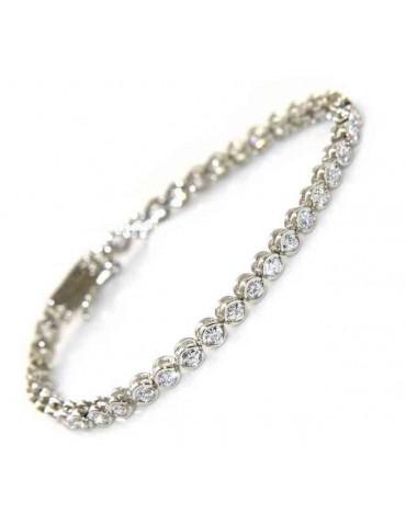 SILVER 925: Tennis Bracelet...