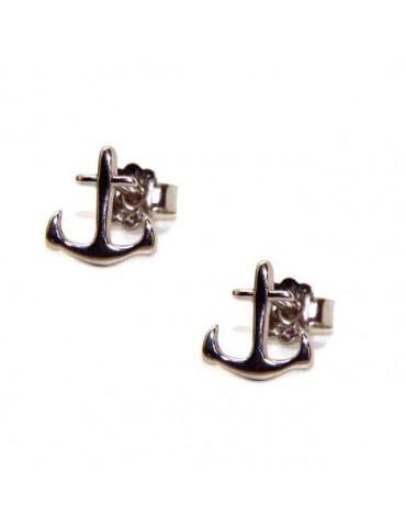 NALBORI orecchini da uomo o donna in argento 925 ancora