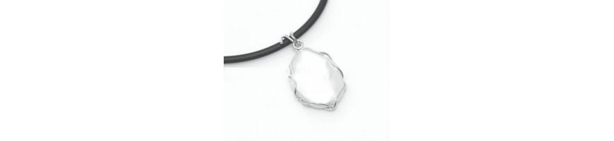 Categoria Pearl chain & Pendant - NonSoloArgenti : Ciondolo donna cerchi in argento 925 con grande perla barocca scaramazza e col...