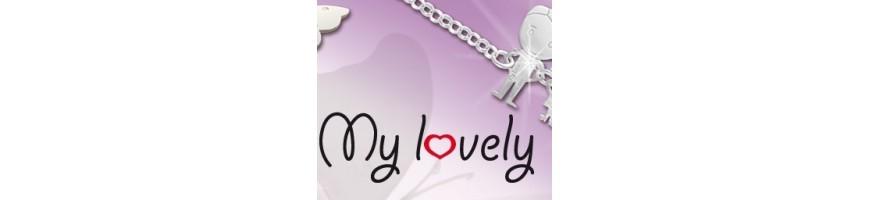 Categoria My Lovely - NonSoloArgenti : ARGENTO 925 catena collana saliscendi rolo' con cuore aperto e neonato bebe' , Argento 9...